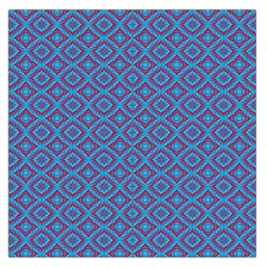 Background  Geometric Pattern Large Satin Scarf (square) by Pakrebo