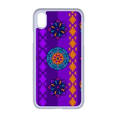 Fancy Colorful Mexico Inspired Pattern Apple Iphone Xr Seamless Case (white) by tarastyle