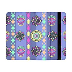 Fancy Colorful Mexico Inspired Pattern Samsung Galaxy Tab Pro 8 4  Flip Case by tarastyle