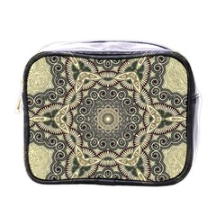 Surreal Design Graphic Pattern Mini Toiletries Bag (one Side)