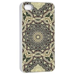 Surreal Design Graphic Pattern Apple Iphone 4/4s Seamless Case (white)