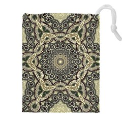 Surreal Design Graphic Pattern Drawstring Pouch (xxl) by Pakrebo