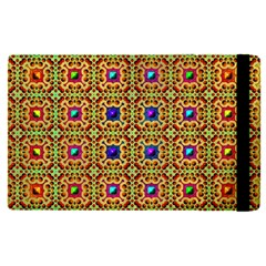 Background Image Tile Pattern Apple Ipad Pro 9 7   Flip Case