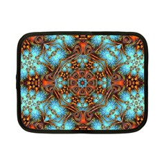 Fractal Background Colorful Graphic Netbook Case (small)