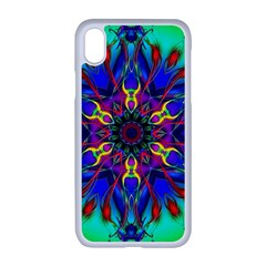 Fractal Art Pictures Digital Art Apple Iphone Xr Seamless Case (white)