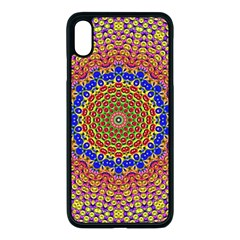 Tile Background Image Ornament Apple Iphone Xs Max Seamless Case (black)