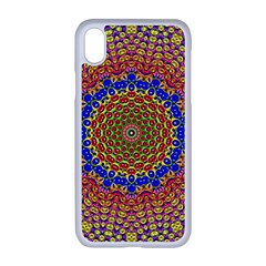 Tile Background Image Ornament Apple Iphone Xr Seamless Case (white)