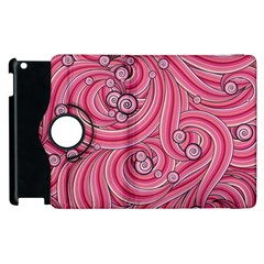 Pattern Doodle Design Drawing Apple Ipad 2 Flip 360 Case