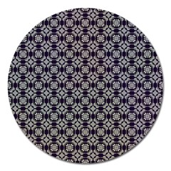 Ornaments  Kaleidoscope Pattern Magnet 5  (round)