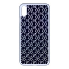 Ornaments  Kaleidoscope Pattern Apple Iphone Xs Max Seamless Case (white)