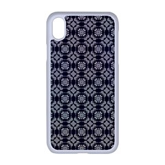 Ornaments  Kaleidoscope Pattern Apple Iphone Xr Seamless Case (white)