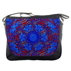 Background Fractals Surreal Design Art Messenger Bag