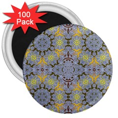 Background Image Decorative Abstract 3  Magnets (100 Pack)