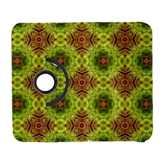 Tile Background Image Pattern Green Samsung Galaxy S  Iii Flip 360 Case