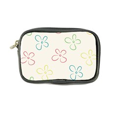 Flower Background Nature Floral Coin Purse by Mariart