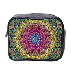 Background Fractals Surreal Design 3d Mini Toiletries Bag (two Sides)