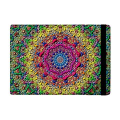 Background Fractals Surreal Design 3d Apple Ipad Mini Flip Case by Pakrebo