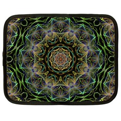 Fractal  Background Graphic Netbook Case (xl) by Pakrebo