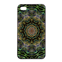 Fractal  Background Graphic Apple Iphone 4/4s Seamless Case (black) by Pakrebo