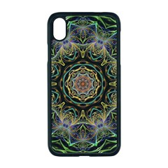 Fractal  Background Graphic Apple Iphone Xr Seamless Case (black)