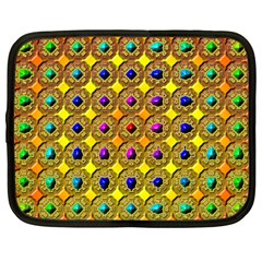 Background  Kaleidoscope Netbook Case (large) by Pakrebo