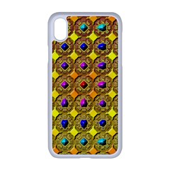 Background  Kaleidoscope Apple Iphone Xr Seamless Case (white)
