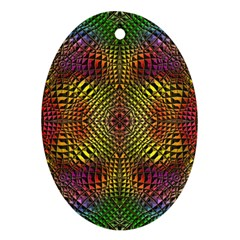 Pattern Background Ornament (oval) by Pakrebo