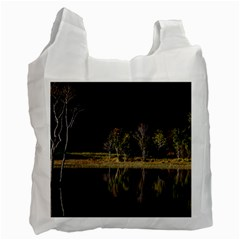 Soi Ball Symmetry Scenery Reflect Recycle Bag (one Side)