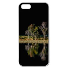 Soi Ball Symmetry Scenery Reflect Apple Seamless Iphone 5 Case (clear)