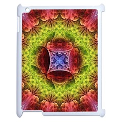 Tile Background Image Pattern Apple Ipad 2 Case (white)