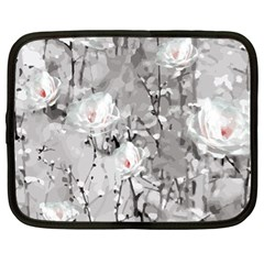 Blossoming Through The Snow Netbook Case (xl)