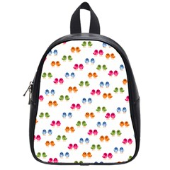 Tweet Hearts Pattern School Bag (small) by WensdaiAddamns