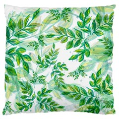Tiny Tree Branches Large Flano Cushion Case (two Sides) by WensdaiAddamns