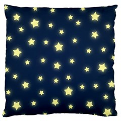 Twinkle Large Flano Cushion Case (two Sides) by WensdaiAddamns