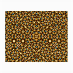 Tile Background Image Geometric Small Glasses Cloth (2 Side)