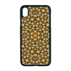 Tile Background Image Geometric Apple Iphone Xr Seamless Case (black)