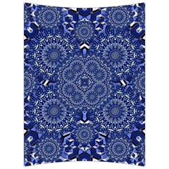 Farbenpracht Kaleidoscope Blue Back Support Cushion