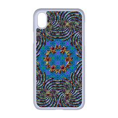 Tile Pattern Background Image Apple Iphone Xr Seamless Case (white)