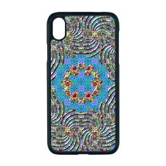 Tile Pattern Background Image Apple Iphone Xr Seamless Case (black)