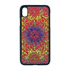 Background Image  Wall Design Apple Iphone Xr Seamless Case (black)