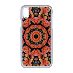 Background Pattern Structure Art Apple Iphone Xr Seamless Case (white)