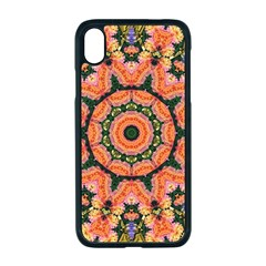 Background Pattern Structure Art Apple Iphone Xr Seamless Case (black)