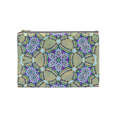 Ornament Kaleidoscope Cosmetic Bag (medium) by Pakrebo