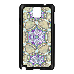 Ornament Kaleidoscope Samsung Galaxy Note 3 N9005 Case (black)