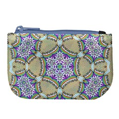 Ornament Kaleidoscope Large Coin Purse by Pakrebo