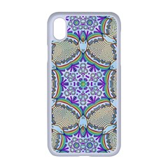 Ornament Kaleidoscope Apple Iphone Xr Seamless Case (white)