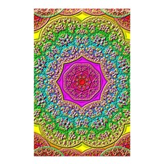 Mandala  Background Geometric Shower Curtain 48  X 72  (small)