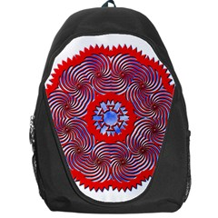 Tile Pattern Background Image Backpack Bag by Pakrebo