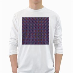 Tile Background Image Pattern Long Sleeve T Shirt by Pakrebo