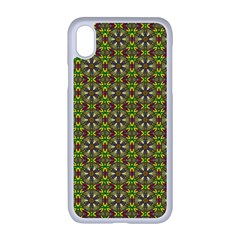 Background Image Pattern Apple Iphone Xr Seamless Case (white)